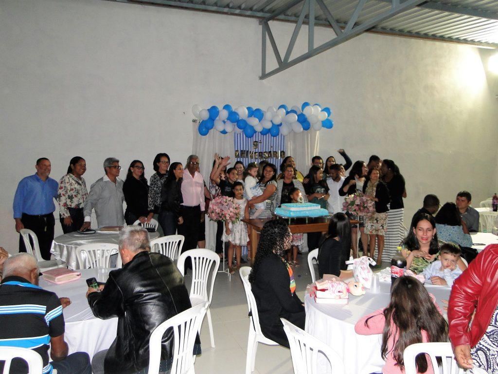 Comemoração 09 anos da igreja