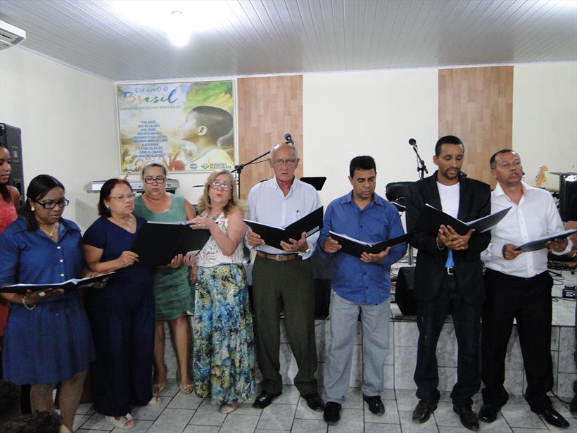 *Coral da 2ª Igreja Batista de Pedro Canário.