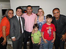Reverendo Rodrigo Lopes e Família