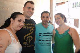 Almoço de domingo casa dos amigos Saulo: Nubia_ Joabe_Maeda